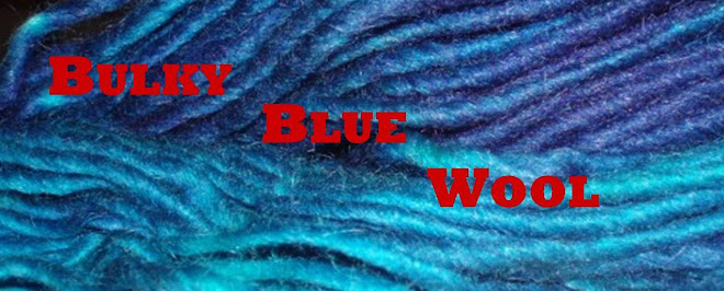 Bulky Blue Wool