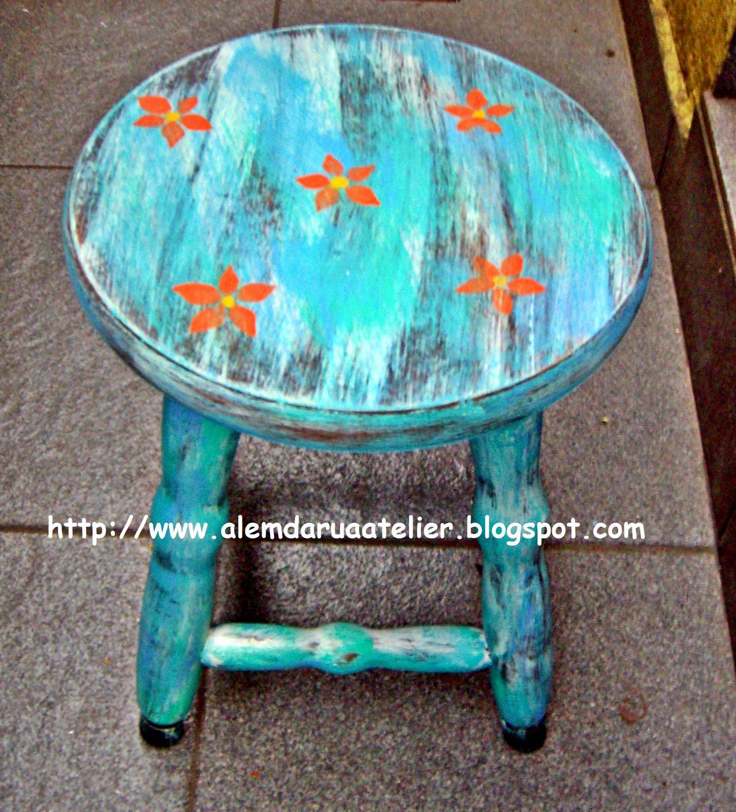 curso de pintura em madeira   pátina envelhecida em banco 2.JPG #BB4710 1449x1600