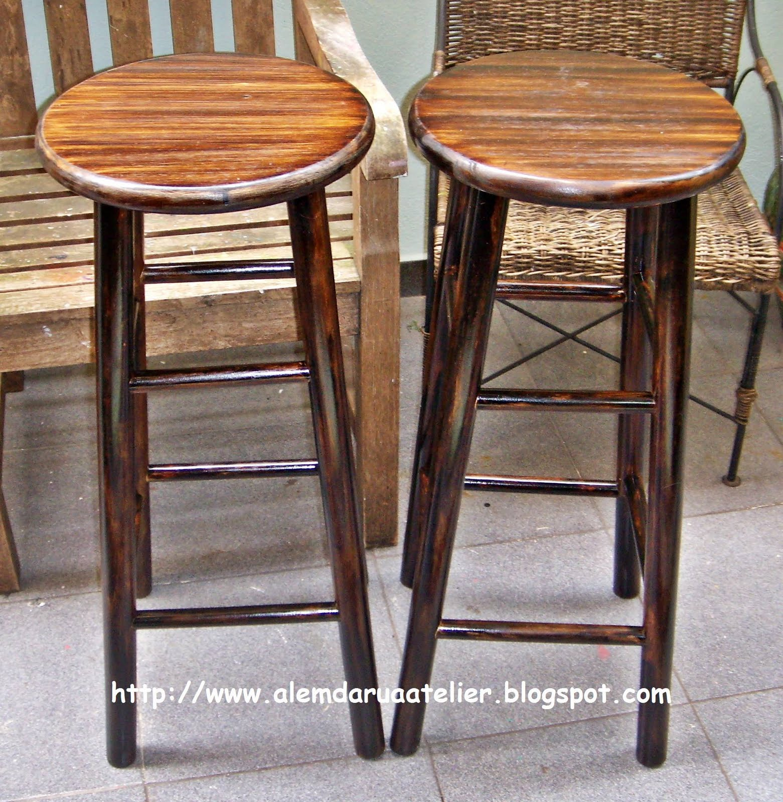 de móveis   pátina envelhecida em bancos de madeira2.JPG #9A5E31 1561x1600
