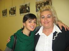 La presidentessa con un'amica.. siciliana!
