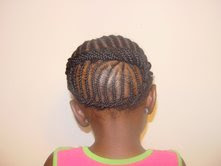 children's cornrows