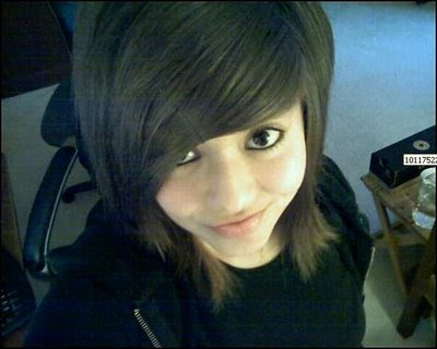 trend hairstyles haircut: Cute emo girl simply hair style