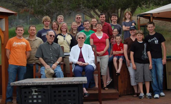 Rick's Family - 2009