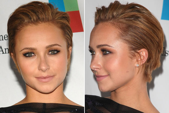 Cutie pie actress Hayden Panettiere let her let down her lovely blonde locks