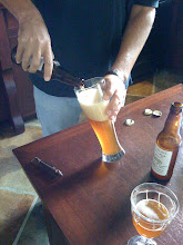 Pouring A Bayou Teche Biere