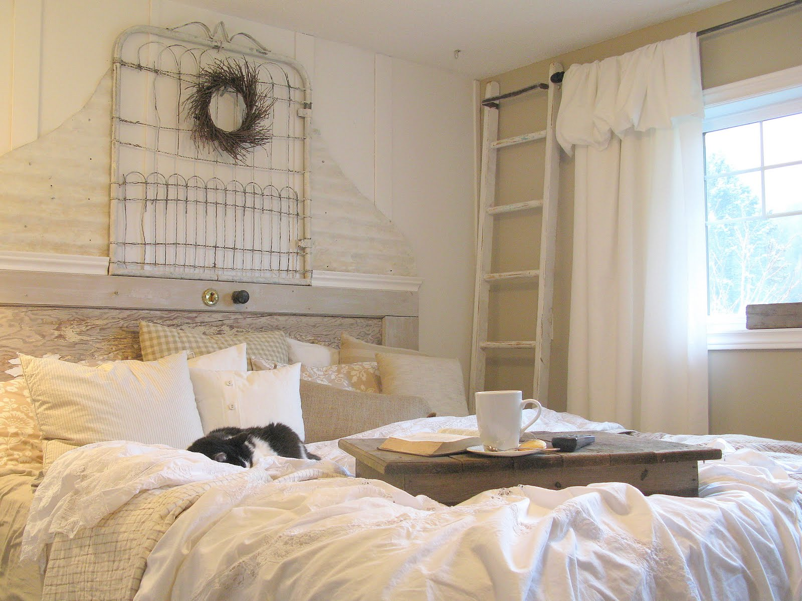 junque interiors master bedroom makeover shabby chic whites galore