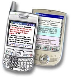 Bible apps on Palm Treo and HP iPaq 1940