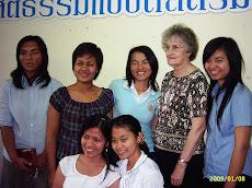 นักเรียนหญิง Bible school student