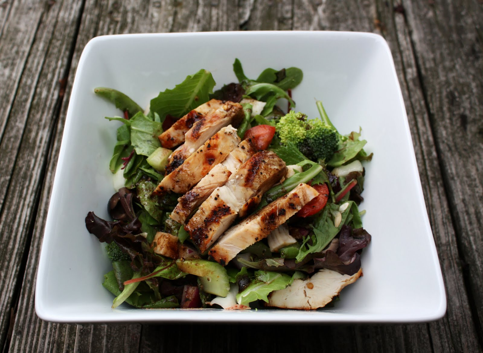 Grilled Chicken Salad - Primal Palate | Paleo Recipes