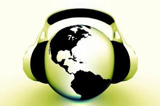 World with Headphones On
