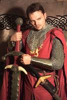 Stefan Trautmann als Rondred Donnerklinge auf dem Bilstein-Konvent 2003, Foto mit freundlicher Genehmigung von Uta Enners