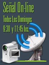 Predicaciones en vivo desde Paraguay todos los Domingos 18:30 hrs