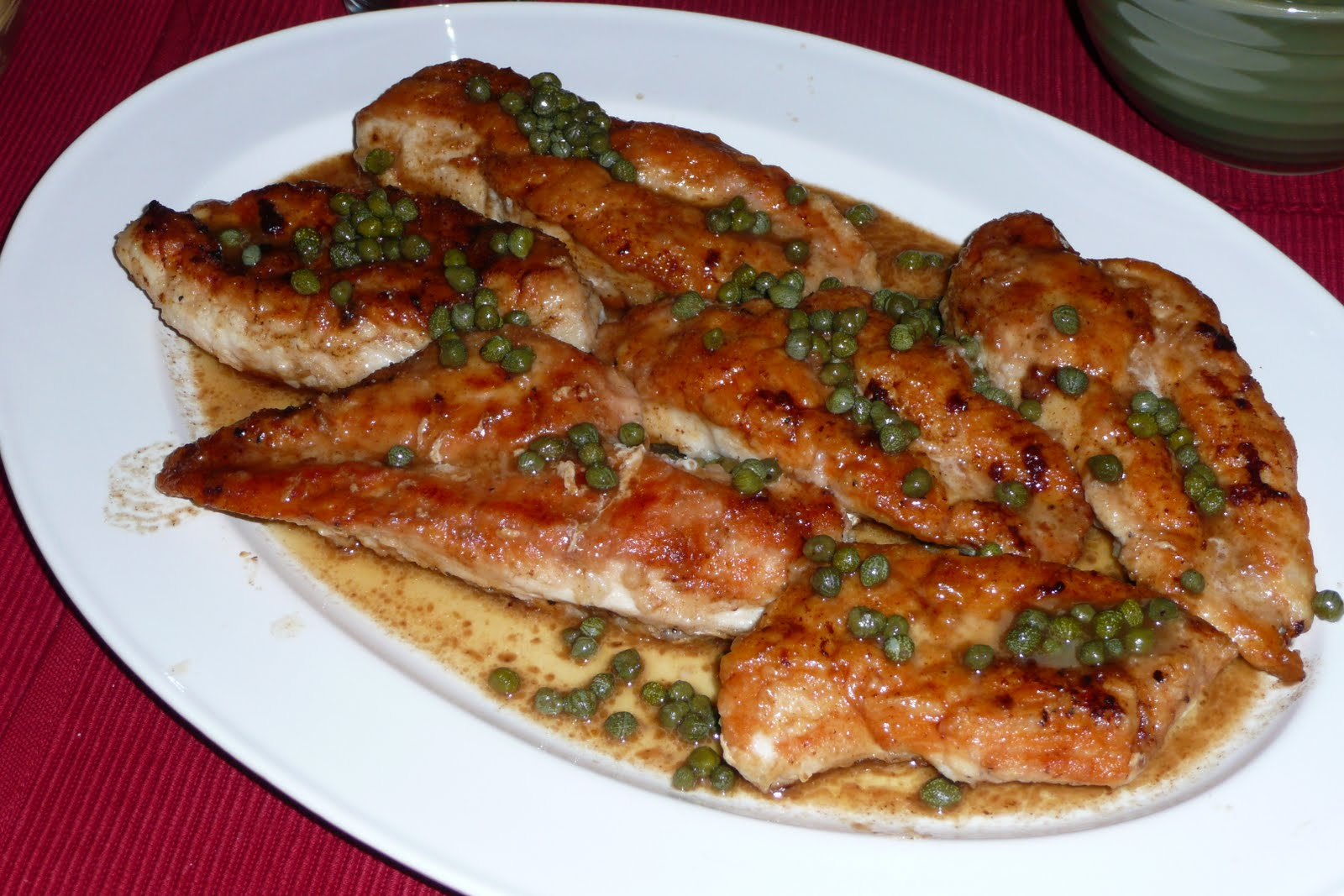 Dinner Time Ideas: Lemon Chicken with Capers