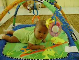Izz Damia (4 Months)