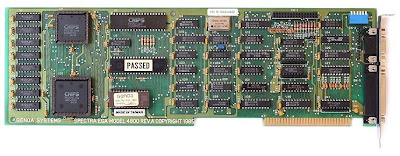 Enhanced Graphics Adaptor (EGA) Card