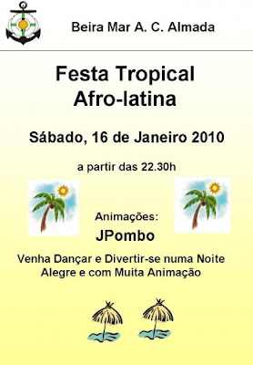 Festa Tropical Afro-Latina - Almada