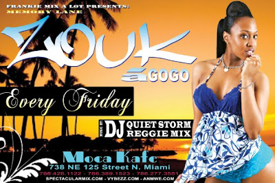 Zouk a Gogo Every Friday @ Moca Cafe - Miami Florida