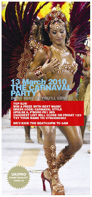 the Carnaval PArty - Peterborough
