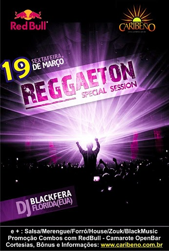Caribeno - Reggaeton Session - Zouk, Salsa Merengue, Black Music, Forro, House