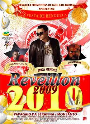 Reveillon 2010 - featuring Mika Mendes, DJ Kadu e Dj Amorim