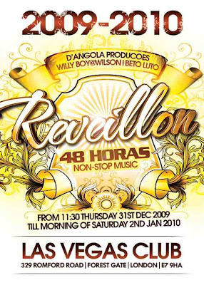 Reveillon 48 Horas non-stop @ Las Vegas Club - London