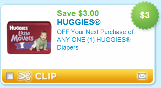 Huggies coupon codes