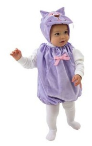 Mullins Square Kitten Baby Costume Purple u2013 6-18 Months  sc 1 st  Coupon Saving Family : cheap baby costumes  - Germanpascual.Com