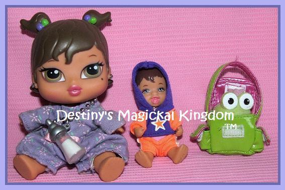Bratz Baby Yasmin With Barbie Doctor Baby From 1980s