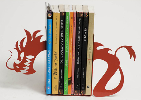 Creative and unique bookends design amazing pictures inspiring humor hybrid news design - Dragon bookend ...