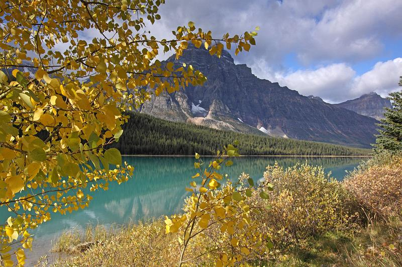 Alberta, Canada - Herbst Am Waterfowl Lake