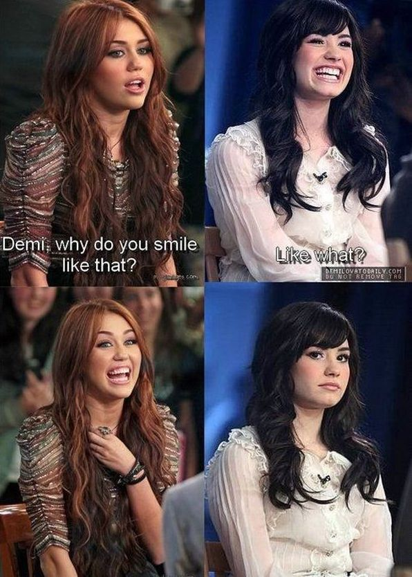 Demi,Why Do You Smile Like That?
