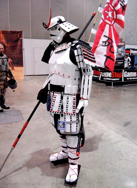 Top 5 Coolest Halloween Costumes - Samurai stormtrooper