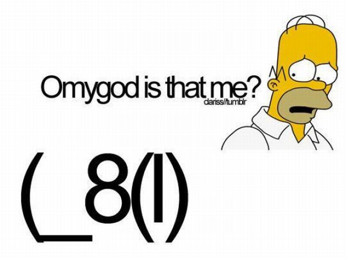 Simpsons Face Special Characters Keyboard Funpicc