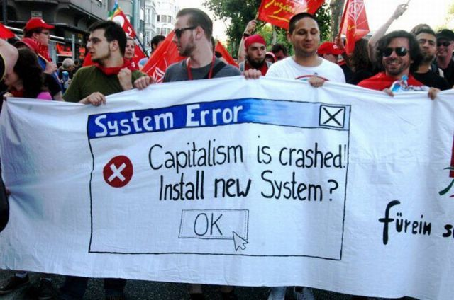System Error Capitalism Is Crashed! Install New System