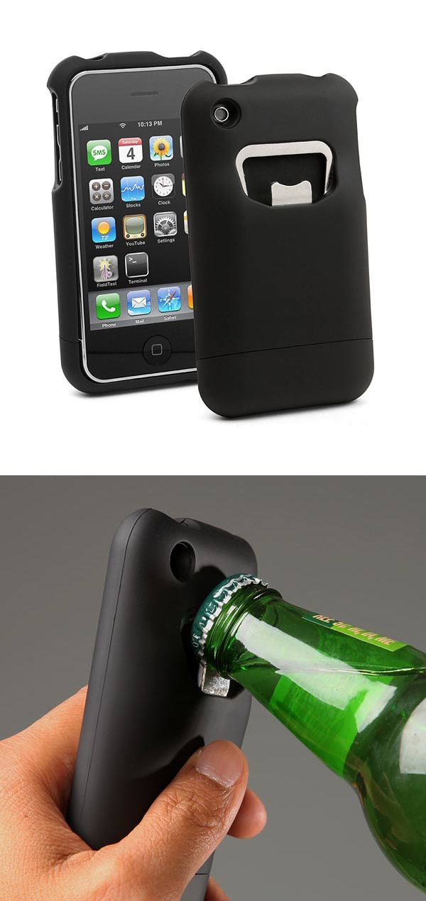 iBottleopener - Bottle Opening iPhone Case