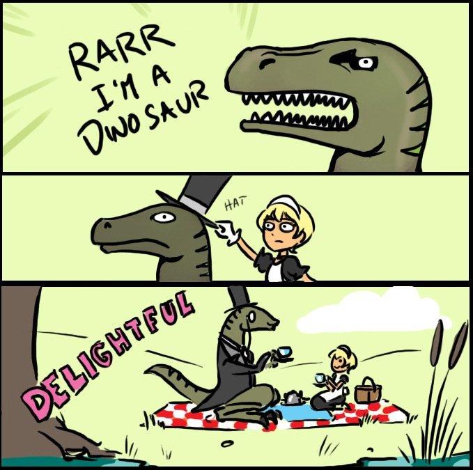 Rarr, I Am A Dinosaur - Hat - Delightful!