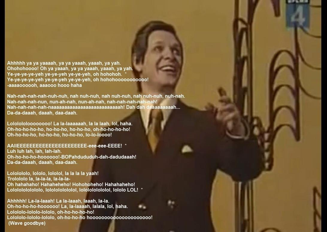 The Trololo Lyrics