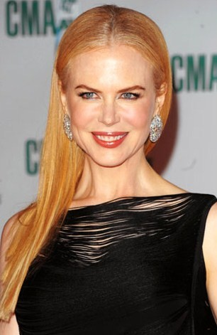 how to wear hair with one shoulder. Nicole#39;s skin and hair color
