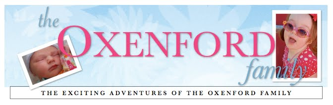 The Oxenford Family Blog