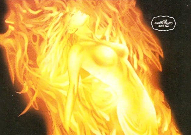 Fénix en llamas
