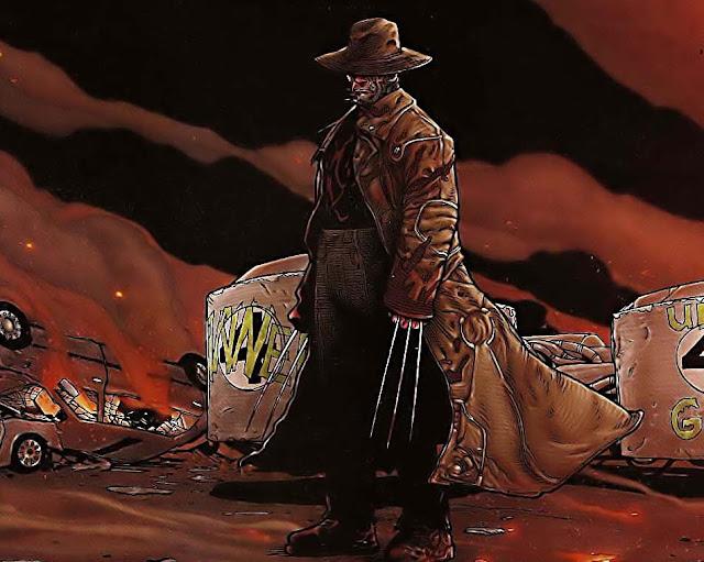 Wolverine en un remanso idílico