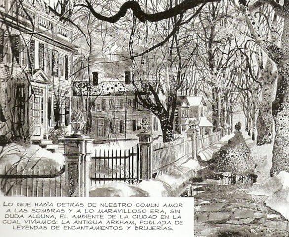 La misteriosa ciudad de Arkham