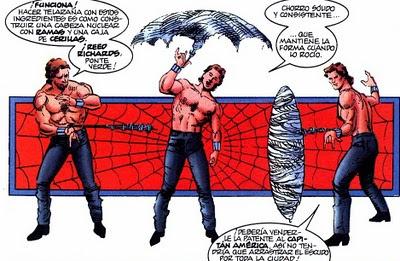 Spiderman a vueltas con sus redes