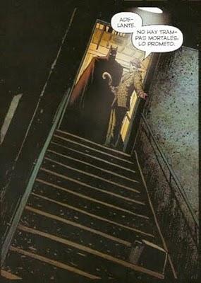 Batman & Enigma bajando a por el criminal