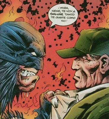 Wolverine achantando civiles