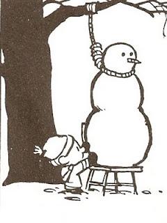 El calor no es el único enemigo del muñeco de nieve
