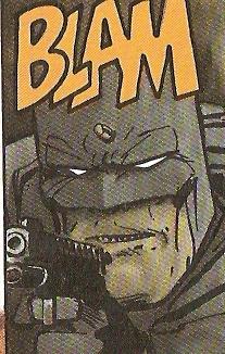 Batman pistolón en mano