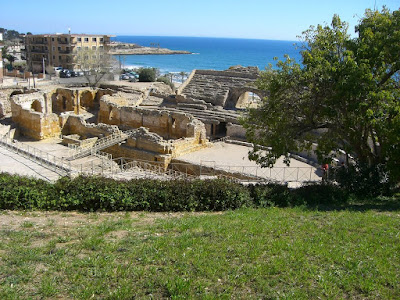 Amphitheater of Tarraco in Catalonia