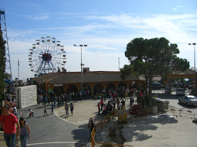 Big wheel of Tibidabo funfair