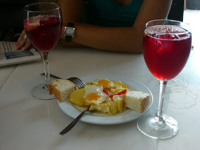 Typical tapa in Granada